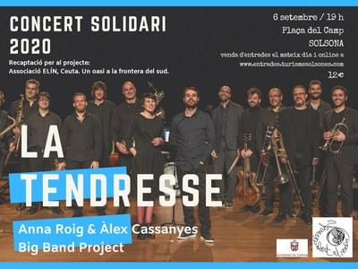 La Tendresse, concert solidari 2020